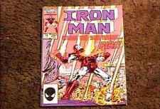 IRON MAN #207 COMIC BOOK NM TONY STARK MARVEL