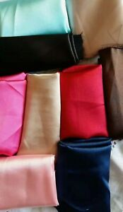 Purple Coffee Pink Turquoise Natural Luxury 19 Momme Charmeuse SILK Pillowcases