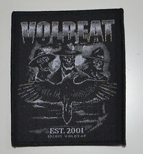 VOLBEAT - Outlaw Raven - Patch - 10 cm x 8,3 cm - 164188