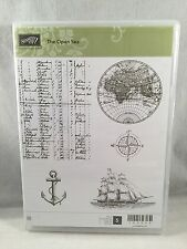 THE OPEN SEA Stampin Up New Ship Anchor Chart World Masculine Sailing