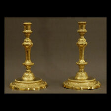 PAIRE DE FLAMBEAUX D'EPOQUE RÉGENCE - PAIR OF TORCHES REGENCY ERA