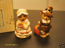 Cherished Teddies _ Harvest Salt & Pepper Shakers 1997 272396