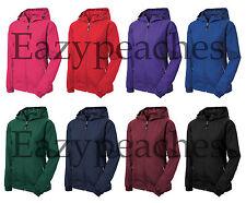 SPORT TEK LADIES S-2XL 3XL 4XL Colorblock Hooded Windbreaker JACKET WOMENS lst76