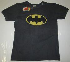RARE Official BATMAN Warner Bros Merchandise Stonwash Vintage T-Shirt S 46/48
