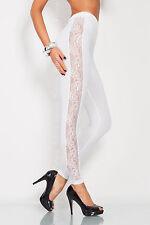 Unique & Elegant Full Ankle Length Leggings With Lace  Sizes 8 - 20  LPL