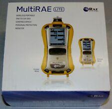 New Non Wireless Multirae Lite Gas Monitor Diffusion Pgm 6208d O2 Li Ion Rae