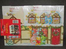 Vintage Care Bears Christmas Gift Box Sets House Shaped 2