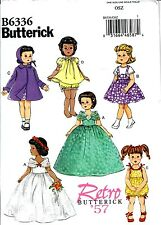 SEWING PATTERN! MAKE 50S STYLE DOLL CLOTHES! FITS AMERICAN GIRL~SHIRLEY TEMPLE