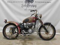1955  Ariel Colt 200cc Single  Project Bike  1792  FREE SHIPPING TO ENGLAND   UK
