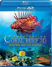 Fascination Coral Reef: Hunters and the Hunted 3D (Blu-ray + 3D Blu-ray) NEW