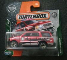 Matchbox Ford Expedition MBX Road Trip 29/35 1:64 110/125 2017 Mattel