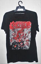 VINTAGE 80's 1985 KREATOR ROCK THRASH METAL TOUR CONCERT PROMO T-SHIRT SLAYER