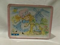 "VINTAGE 1975 ""POLLY PAL"" METAL LUNCH BOX  BY THERMOS INC."