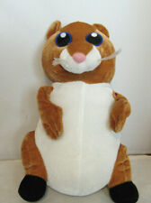 """Ideal Toys Plush Hamster 12"""" Kia """"Hamsta"""" Adorable Pet Never Played With"""