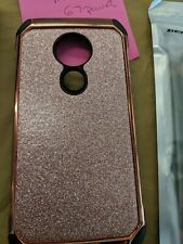 For Motorola Moto G7 Power  Phone Case Shockproof Armor Cover glitter