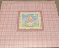 C R Gibson Little Princess Scrapbook With Premade Embellished Pages