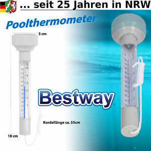 Pool Thermometer Wasser Temperatur für Schwimmbad Planschbecken Teich schwimmend