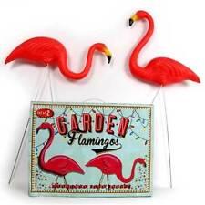 Pink Lawn Flamingos Garden Gorgeous Tropical Kitsch Wedding Party Flamingo Gift