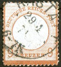 DR 27 sauber gestempelt Deutsches Reich Brustschild Michel 550,00 € used