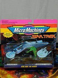 Micro Machines Vintage Star Trek The Movies Collection 2 Galoob 1993 Aus Seller