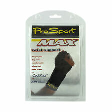 Wrist Support Sport Pro Max With CoolMax And Airprene Black Size Small