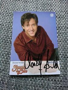 Autogrammkarte Sturm Der Liebe