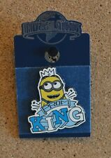 New listing New - Universal Studios - Despicable Me - Minion Prom King -Trading Pin