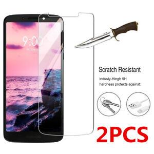 2X Premium Tempered Glass Screen Protector For Motorola Moto E6 Play G7 G8 One Z