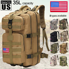 35L Outdoor Military Rucksacks Tactical Backpack Camping Hiking Trekking Bag
