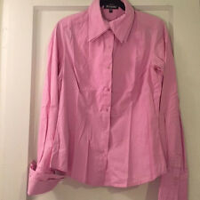 JUS D'ORANGE Pink Buttondown Shirt (100% Cotton) (EU 40) (Good condition)