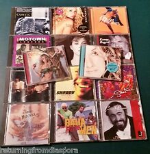14 Mixed Music CDs (over 180 Songs) ~ Shakira, Santana, Madonna, Celine Dion