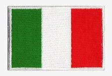 Ecusson patche patch Italie drapeau Italien 70 x 45 mm Pays du monde brodé
