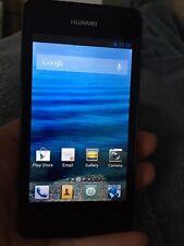 Huawei Ascend Y300-100 4gb O2 Poss Unlocked? Smartphone Black Working Order L@@k