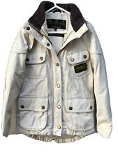 Girls Barbour Jacket Size M (8-9)
