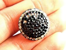 Old vintage retro antique Sterling Silver 925 ring authentic women's jewelry 73s