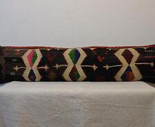 Bedding Pillow Cover Handmade Kilim Pillow Cover Cushion Cover 12x48 Pillow Case