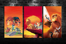 HD Printed Oil Painting Home Wall Art On Canvas The Lion King 3PCS Unframed
