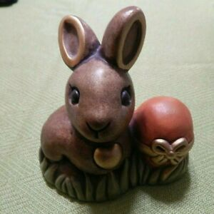 492 THUN- Coniglio con Uovo pasquale e girasole-Rarissimo- fuori produzione