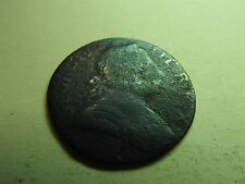 George III Half-Penny 1774 US Colonial Coin Thin & Light (5338)