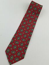 "Andhurst All Imported Silk Red with Pattern Mens Tie Classic 57"" x 3 3/4""  #BT19"