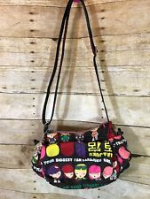 HARAJUKU LOVERS Multi-Color Crossbody Satchel Handbag