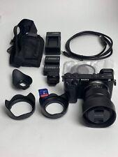 Sony Alpha Nex-7 Digital Camera w/ Eoss 18-55mm + accessories