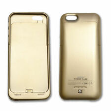 Gold Mobile Phone Battery Case for Apple