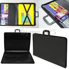 A2 File Bag Desig Portfolio WaterProof Art Work Painting Folder Document Case