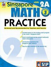 Frank Schaffer FS013992 Singapore Math Practice Level 2A 3rd Grade Workbook NEW