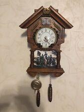 New ListingBradford Exchange Hour Of Glory Cuckoo Clock Confederate General Robert E Lee