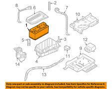 PORSCHE OEM 08-10 Cayenne 4.8L-V8-Battery 99961109520