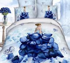 Set Copri Piumone Lenzuolo Federe Copripiumone Duvet Cover Bed Set BED0037 P
