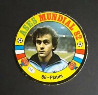 PLATINI / FRANCE -- WORLD CUP 82 WC 82 STICKER