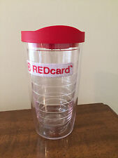 New Target Tervis Tumbler Travel Mug Cup 16 oz. red card